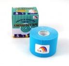 TEMTEX kinesiology tape Tourmaline, modrá 5 cm x 5 m