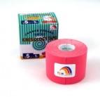 TEMTEX kinesiology tape Classic, rúžová 5 cm x 5 m