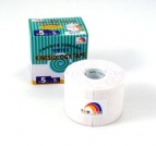 TEMTEX kinesiology tape Tourmaline, biela 5 cm x 5 m
